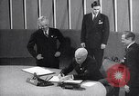 Image of Harry S Truman at UN Charter conference San Francisco California USA, 1945, second 51 stock footage video 65675032539