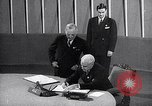 Image of Harry S Truman at UN Charter conference San Francisco California USA, 1945, second 53 stock footage video 65675032539