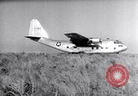 Image of XC-123 Eglin Air Force Base Okaloosa County Florida USA, 1951, second 13 stock footage video 65675032553