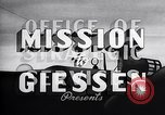 Image of Mission to Giessen United States USA, 1943, second 15 stock footage video 65675032561