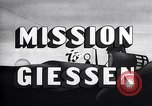 Image of Mission to Giessen United States USA, 1943, second 17 stock footage video 65675032561