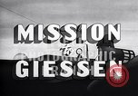 Image of Mission to Giessen United States USA, 1943, second 19 stock footage video 65675032561