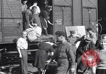 Image of displaced Russians Grimma Germany, 1945, second 4 stock footage video 65675032575