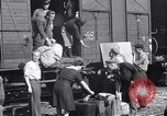 Image of displaced Russians Grimma Germany, 1945, second 6 stock footage video 65675032575
