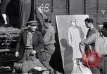 Image of displaced Russians Grimma Germany, 1945, second 8 stock footage video 65675032575