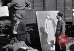 Image of displaced Russians Grimma Germany, 1945, second 10 stock footage video 65675032575