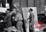 Image of displaced Russians Grimma Germany, 1945, second 13 stock footage video 65675032575