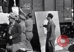 Image of displaced Russians Grimma Germany, 1945, second 14 stock footage video 65675032575