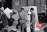 Image of displaced Russians Grimma Germany, 1945, second 16 stock footage video 65675032575