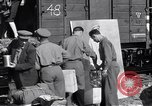 Image of displaced Russians Grimma Germany, 1945, second 17 stock footage video 65675032575
