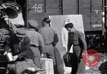 Image of displaced Russians Grimma Germany, 1945, second 18 stock footage video 65675032575