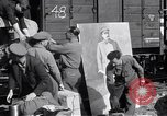 Image of displaced Russians Grimma Germany, 1945, second 19 stock footage video 65675032575