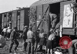 Image of displaced Russians Grimma Germany, 1945, second 29 stock footage video 65675032575