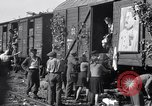 Image of displaced Russians Grimma Germany, 1945, second 32 stock footage video 65675032575