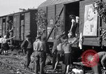 Image of displaced Russians Grimma Germany, 1945, second 33 stock footage video 65675032575