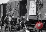 Image of displaced Russians Grimma Germany, 1945, second 35 stock footage video 65675032575