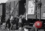 Image of displaced Russians Grimma Germany, 1945, second 36 stock footage video 65675032575