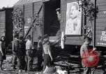 Image of displaced Russians Grimma Germany, 1945, second 37 stock footage video 65675032575