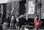 Image of displaced Russians Grimma Germany, 1945, second 39 stock footage video 65675032575