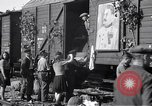 Image of displaced Russians Grimma Germany, 1945, second 40 stock footage video 65675032575