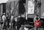 Image of displaced Russians Grimma Germany, 1945, second 41 stock footage video 65675032575