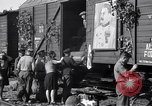Image of displaced Russians Grimma Germany, 1945, second 42 stock footage video 65675032575