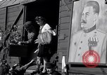 Image of displaced Russians Grimma Germany, 1945, second 43 stock footage video 65675032575