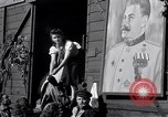 Image of displaced Russians Grimma Germany, 1945, second 47 stock footage video 65675032575
