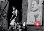 Image of displaced Russians Grimma Germany, 1945, second 48 stock footage video 65675032575