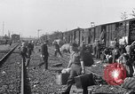 Image of displaced Russians Grimma Germany, 1945, second 49 stock footage video 65675032575