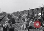Image of displaced Russians Grimma Germany, 1945, second 51 stock footage video 65675032575