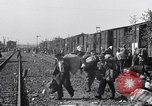 Image of displaced Russians Grimma Germany, 1945, second 56 stock footage video 65675032575
