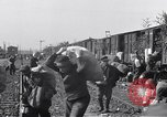 Image of displaced Russians Grimma Germany, 1945, second 59 stock footage video 65675032575