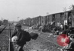 Image of displaced Russians Grimma Germany, 1945, second 62 stock footage video 65675032575