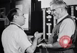 Image of textile mill United States USA, 1950, second 47 stock footage video 65675032620