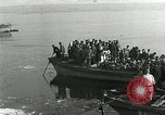 Image of Korean refugees ferrying across river Pyongyang North Korea, 1950, second 26 stock footage video 65675032638