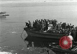 Image of Korean refugees ferrying across river Pyongyang North Korea, 1950, second 27 stock footage video 65675032638
