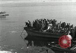 Image of Korean refugees ferrying across river Pyongyang North Korea, 1950, second 28 stock footage video 65675032638