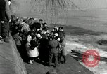 Image of Korean refugees ferrying across river Pyongyang North Korea, 1950, second 38 stock footage video 65675032638