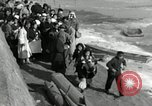 Image of Korean refugees ferrying across river Pyongyang North Korea, 1950, second 47 stock footage video 65675032638