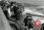 Image of Korean refugees ferrying across river Pyongyang North Korea, 1950, second 48 stock footage video 65675032638