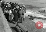 Image of Korean refugees ferrying across river Pyongyang North Korea, 1950, second 50 stock footage video 65675032638