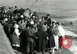 Image of Korean refugees ferrying across river Pyongyang North Korea, 1950, second 52 stock footage video 65675032638