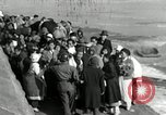 Image of Korean refugees ferrying across river Pyongyang North Korea, 1950, second 53 stock footage video 65675032638