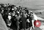 Image of Korean refugees ferrying across river Pyongyang North Korea, 1950, second 57 stock footage video 65675032638
