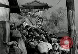 Image of Korean refugees ferrying across river Pyongyang North Korea, 1950, second 59 stock footage video 65675032638