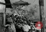 Image of Korean refugees ferrying across river Pyongyang North Korea, 1950, second 60 stock footage video 65675032638