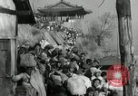 Image of Korean refugees ferrying across river Pyongyang North Korea, 1950, second 61 stock footage video 65675032638