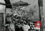 Image of Korean refugees ferrying across river Pyongyang North Korea, 1950, second 62 stock footage video 65675032638