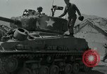Image of Sherman tank Korea, 1951, second 9 stock footage video 65675032642